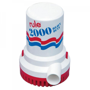 POMPA IMMERSIONE RULE 2000 24V